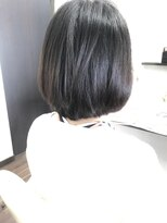 ヴィオレッタ ヘアアンドスペース(VIOLETTA hair&space)レイヤーボブ×ブラウンカラー×こなれ感[塚口美容室]