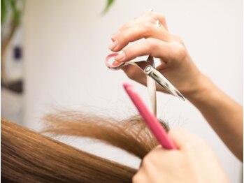美容室フロンジュの写真/≪本物志向の大人女性に人気≫髪への負担が少ない《ハーブカラー》で若々しい美髪へ。