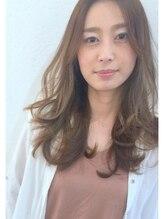 ホロホロヘアー(Hair)ホロホロHair センターパート×カジュアル