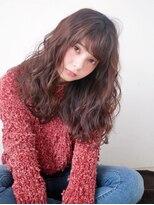 大人かわいいくせ毛風デジタルパーマ☆黒髪モードオフィス◎