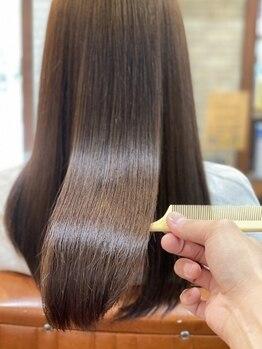 ヘアーカルチャー 小倉台店 HAIR CULTUREの写真/従来のトリートメントでは実現できなかった艶と柔らかさが叶う!Before/Afterの違いが一目で分かります!