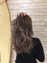 ヘアサロン ドット トウキョウ カラー 町田店(hair salon dot. tokyo color)【silky beige】ブリーチグラデーションカラーリスト田中