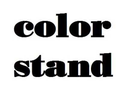 カラースタンド(color stand)の写真