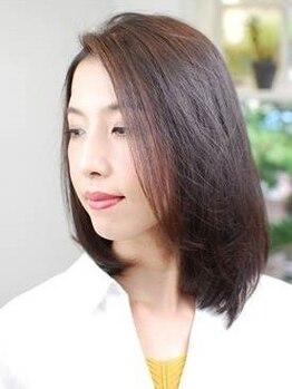ニコ ヘアデザインの写真/髪の内側、深層部にトリートメントを浸透させる人気のCAREPRO♪指通りサラサラの理想の艶髪が叶う◎