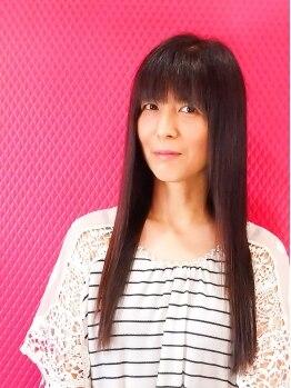 ヘアースタジオ みゅーく(HAIR STUDIO)の写真/[他サロンで縮毛矯正を断られた方必見!]どんなダメージも毛先までうるうるなツヤ髪で触られたくなる質感に