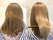 忙しい人にもオススメ♪ULTOWAはカラーや縮毛矯正とも同時施術可能!