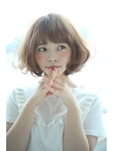 ショコラ アン 横須賀中央小顔ゆるふわショートボブ