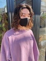 ヘアー アイス ルーチェ(HAIR ICI LUCE)ミディアムパーマ ボブパーマ ウェーブパーマ 担当山中