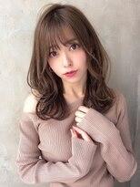 ビューティーコネクション ギンザ ヘアーサロン(Beauty Connection Ginza Hair salon)20代30代40代◎小顔無造作カールひし形インナーカラー銀座 間嶋