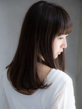 ヘナ ファクトリー 八王子店の写真/ヘナなら縮毛矯正のように髪が細くなる事なく、クセ毛を自然に落ち着かせる事が出来ます!
