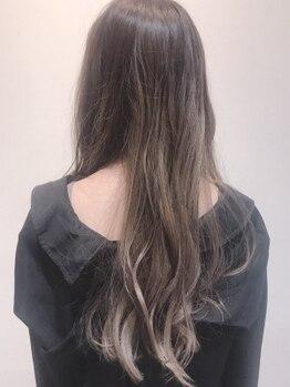 キッカ(CHICCA)の写真/【コロナ対策徹底中】【髪質改善エステ】「カラー=傷む」のイメージを払拭!潤い/ツヤ/発色まで綺麗に再現☆