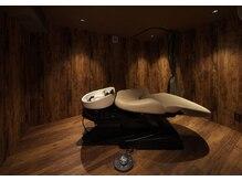 カプロ キャトル(Capullo de Quatre)の雰囲気(フルフラットのシャンプー個室で極上ヘッドスパを・・・♪)