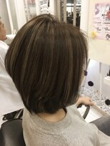 ヘアーデザインムーヴ(Hair design MOVE)お客様スタイル
