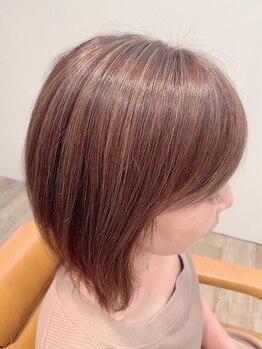 ル シエル(Le Ciel)の写真/オーガニック薬剤使用のカラーに特化したサロン★ダメージレスな褒められ髪をキレイにキープ♪