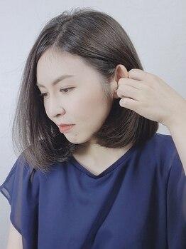 エイチエムヘアー 池袋店(H M hair)の写真/《カット+リタッチグレイカラー¥4000》しっかり白髪も染めつつ、ファッションカラーのような色と質感に♪
