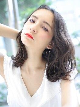 ヘアーメイクミキ 上野本店(hair make MIKI)の写真/《毎朝キチンと巻いたようなふわふわカール♪》ダメージレスで女性らしいぷるぷる愛されカールで好感度UP☆