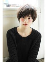 アンアミ オモテサンドウ(Un ami omotesando)【Un ami】《増永剛大》ミルクティーカラー、姫カットショート