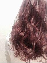 ポッシュ 原宿店(HAIR&MAKE POSH)ピンクブラウンカラー