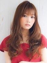 アグ ヘアー ロッソ 福島店(Agu hair rosso)《Agu hair》大人かわいいカールロング