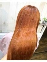 オレンジカラー【アンククロス池袋東口/YUI】