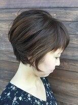 クブヘアー(kubu hair)《kubu hair》小顔ふんわりまとまる簡単ショートボブ