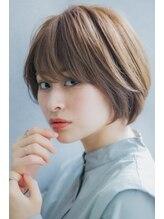 リルプラス ギンザ(Rire+ ginza)【Rire-リル銀座-】ナチュラルショートボブ☆