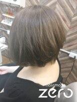 ヘアーメイクゼロ 坂戸駅前店(hairmake zero)アディクシー シルバー
