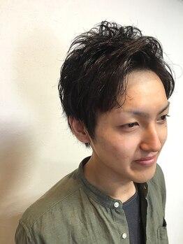バーバーヘアーウォール(barber hair WALL)の写真/【大元】彼女や奥さんに褒められると評判!!カジュアルな大人スタイルで印象UP間違いなし!