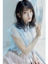 プラウドふわっ優しいミディアムヘア☆艶感