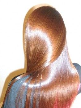 """アクス(ACTSS)の写真/おしゃれな大人は""""髪質美人""""驚くほど艶々になる[M3D酸熱配合トリートメント]で自分史上最も輝くツヤ髪に☆"""