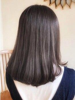 デッカソウル 茨木店(Decca Soul)の写真/◆JR茨木駅◆より柔らかで自然な仕上がりに♪【キュア・スペリア】でダメージレスに理想のサラツヤ髪へ