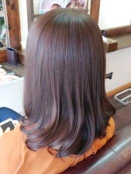 ヘア デ パルサ(Hair de Parusa)の写真/【髪の傷み等のお悩みを解決&なりたいスタイルをご提案】こだわりは丁寧なカウンセリングとダメージレス◎