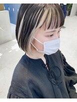 21年夏 ツートンの髪型 ヘアアレンジ 人気順 ホットペッパービューティー ヘアスタイル ヘアカタログ