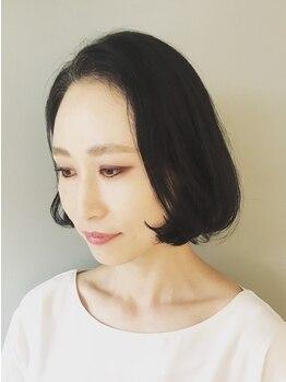 トレパルッキエーレサカイ(tre parrucchiere sakai)の写真/お洒落な白髪染めはtreにお任せ!あなた好みで選べるイルミナカラー・ハーブカラーで大人の艶Styleを叶える.