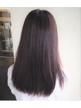 パウダー(powDer)の写真/【艶感のある綺麗な仕上がりに感動☆】髪へのダメージを最小限に抑えて艶髪へと導きます…☆