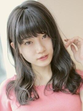アグ ヘアー シーモ 下関店(Agu hair seamo)透け感オリーブの女っぽウェーブ