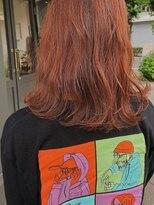 ヘアーアイスカルテット(HAIR ICI QUARTET)オレンジカラー