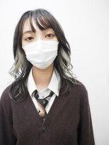 ♪Coni♪黒髪卒業/インナーカラー/ホワイトカラー