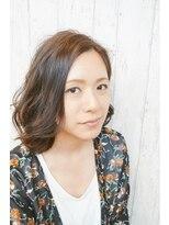 ピースナンバ(PEACE NAMBA)肩上セクシーボブ/美人髪ソムリエ ヒロキ