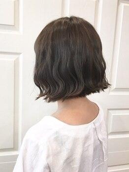 美容室 ウーヴリール(ouvrir)の写真/【カット+アロマヘッドスパ+トリートメント ホームケア付クーポン有♪】大人hairはカット技術と再現性が◎