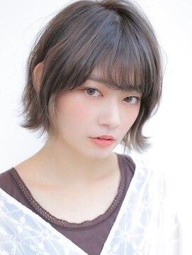 アグ ヘアー ドレス 喜久田店(Agu hair dress)《Agu hair》外ハネボブ×クールインナーカラー