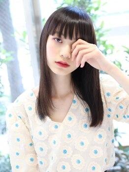 ヘアーメイクミキ 上野本店(hair make MIKI)の写真/極上の艶髪とみずみずしさでまとまり方に驚きの違い!本質から輝く髪に☆人気のTOKIOインカラミで髪質改善!!