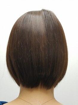 グー(GOO)の写真/表面だけの効果ではなく、内部補修をしっかり考えて作られた《アンチフリッツ髪質改善Tr》で健康な美髪を―