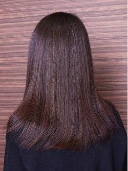 ステビア(STEVIA)の写真/カラーやパーマ、日々のスタイリングで傷んでしまった髪に本来の潤いとツヤを!キレイな髪と地肌を継続♪