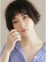 キース ヘアアンドメイク(kith. hair&make)恵比寿kith.本田×ニュアンス カール クラシカル 黒髪