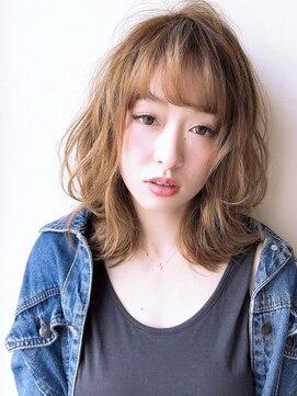 アグ ヘアー リル 志木店(Agu hair lilou)《Agu hair lilou》大人かわいいウルフレイヤーミディアム