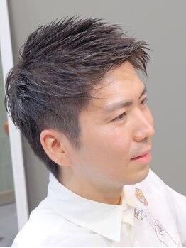 ヘア アトリエ アネロ(ANELLO)の写真/マンツーマン施術で好印象爽やかヘアに!頭皮マッサージ器具を使った本格スパでMENSならではの悩みも解消!