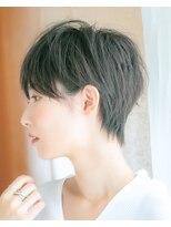 ルージュ(Rouge)【山野 俊貴】大人かわいい黒髪セシルカット