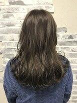 ポッシュ 原宿店(HAIR&MAKE POSH)アッシュグレー ハイライト グレージュ