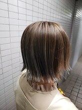 ヘアーワークス エイトコー(Hair works eight.co)ホワイトパールグラデーション